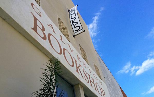 Galveston Bookshop store front.